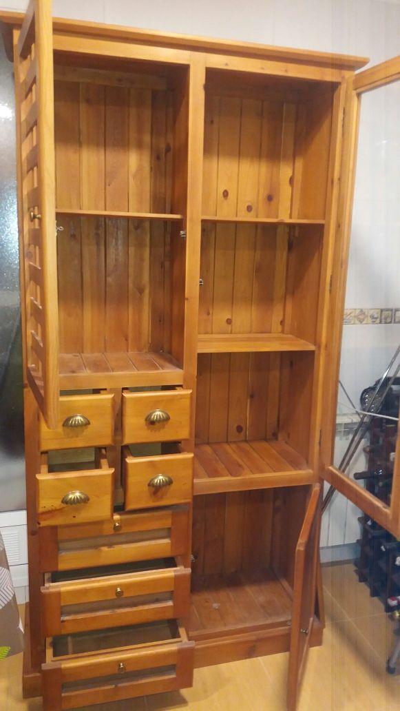 Mueble de madera para cocina en perfecto estado . de segunda mano ...