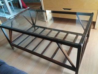 Mesa de madera Hambel.