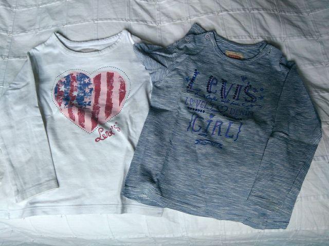 camisetas levis niña 36meses
