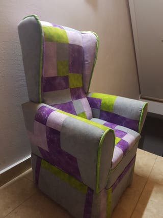 Sofa orejero de niñ@