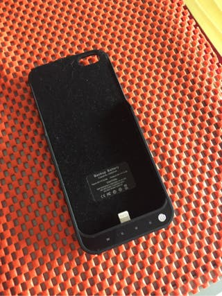 Funda con bateria Iphone 5