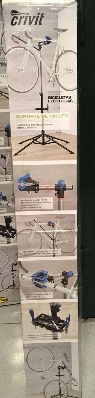 Caballete reparación de bicicleta-NUEVO