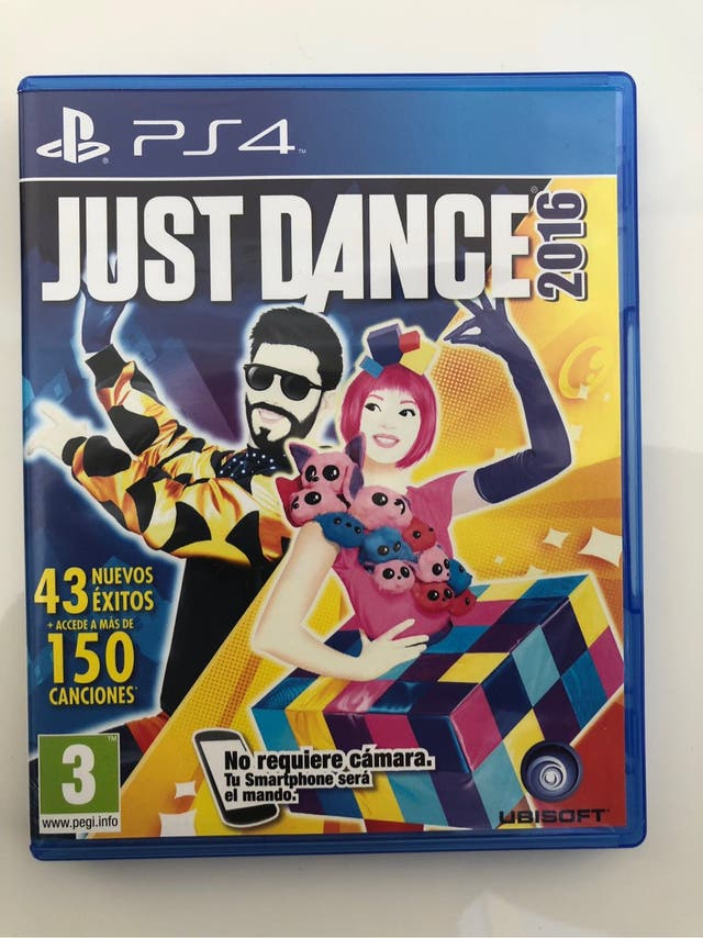 Just Dance ps4 2016