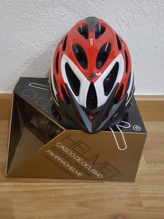Casco ciclismo Spiuk Zirion Rojo-Blanco