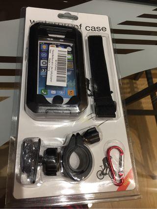 Soporte bicicleta i-phone SE/5/5S/5C
