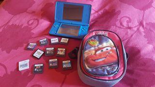 Nintendo DS XL + Juegos + 2 Fundas