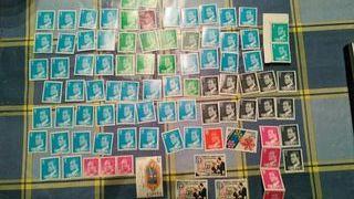 lote de sellos sin usar