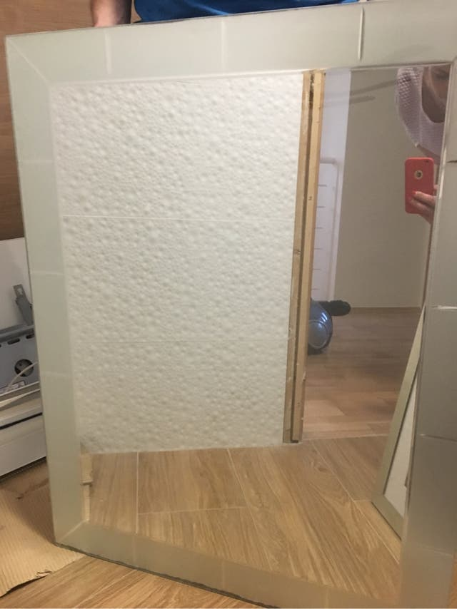 Espejo del baño