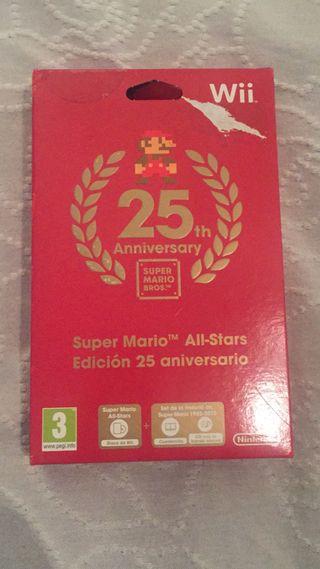 SUPER MARIO 25th aniversary