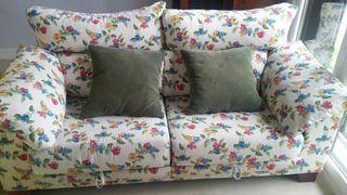 Sofa 2 plazas asientos extraibles