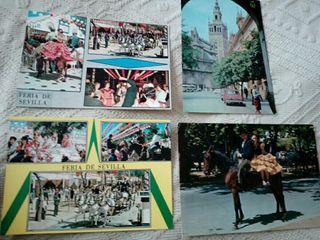 Postales de Sevilla años 60
