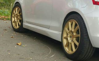 """Llantas Subaru Sti 17"""""""