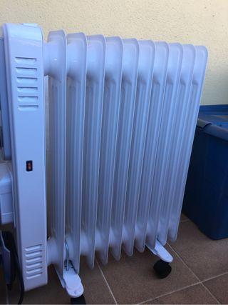 Radiador calefacción de aceite caliente