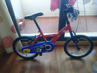 Bicicleta niño. 16 pulgadas