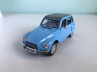 Maqueta de coche Citroen Dyane 6