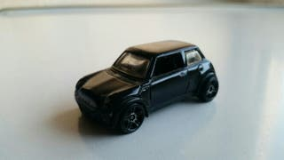 hot wheels mini cooper negro año 2001