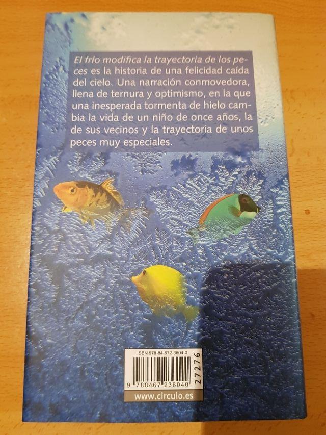 El frío modifica la trayectoria de los peces