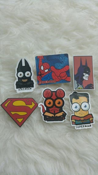 Pegatinas super heroes