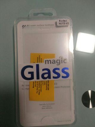 Protector pantalla Redmi Note 4