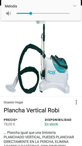 plancha vapor vertical
