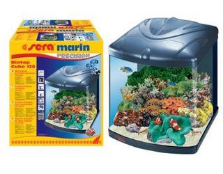 Acuario agua marina Sera 130L + Mueble