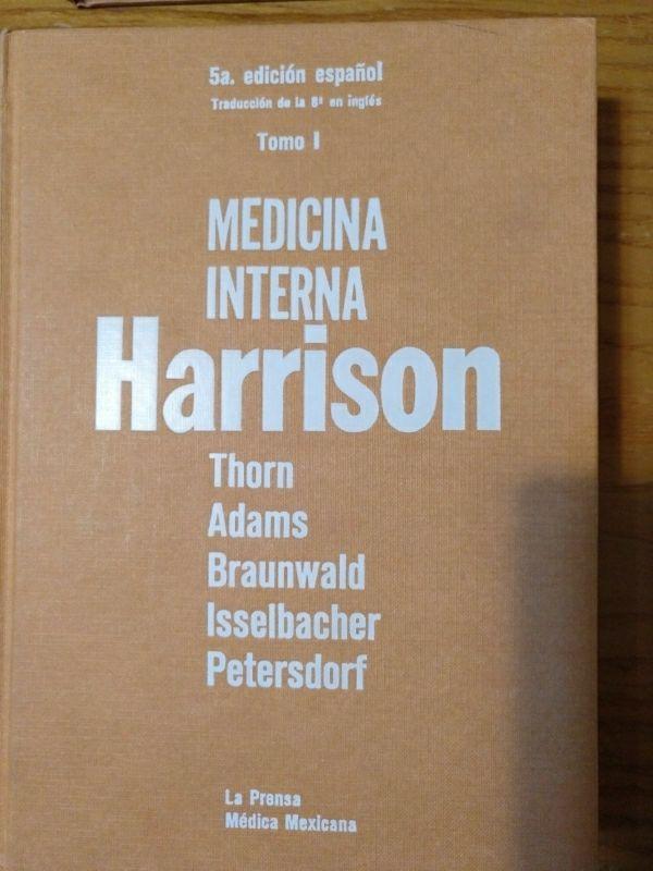 Libros de Medicina Interna Harrison
