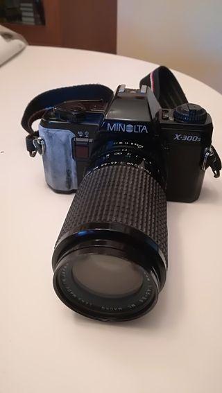 máquina fotografía