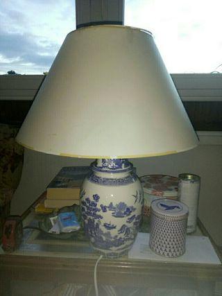 Lámpara jarron chino