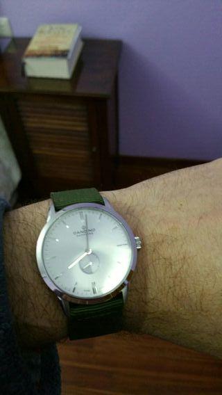reloj cuarzo de la marca suiza candino nuevecito