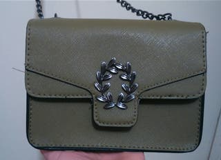 bolso pequeño verde