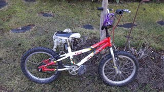 Bicicleta niño para aprender a montar