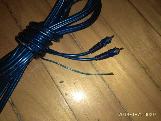Cable RCA apantallado