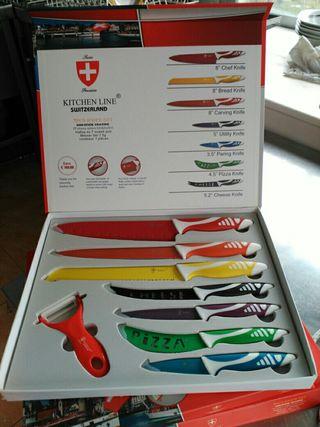 estuche de cuchillos