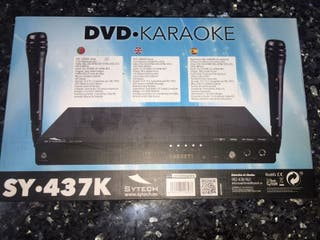 dvd y karaoke
