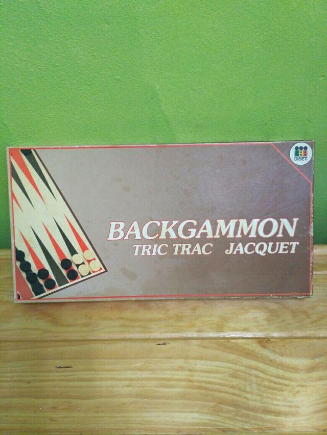 Juego De Mesa Backgammon Tric Trac Jacquet De Segunda Mano Por 4
