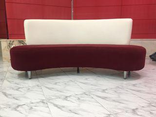Sofa diseño sala de espera.