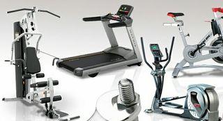 Reparación equipos fitness.
