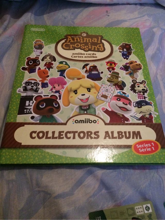 Animal Crossing, cartas Amiibo