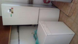 lavabajilla y frigorifico