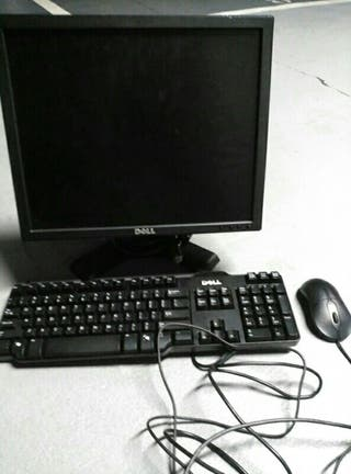 pantalla dell,teclado y raton