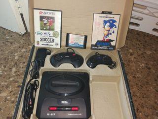 Consola Sega Megadrive II