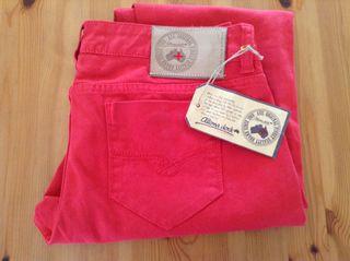 Pantalón Altona dock rojo