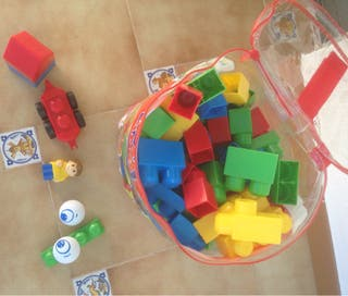Mega bloks 122 piezas