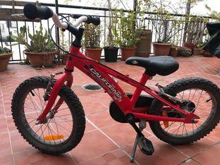 Bicicleta niño bh California