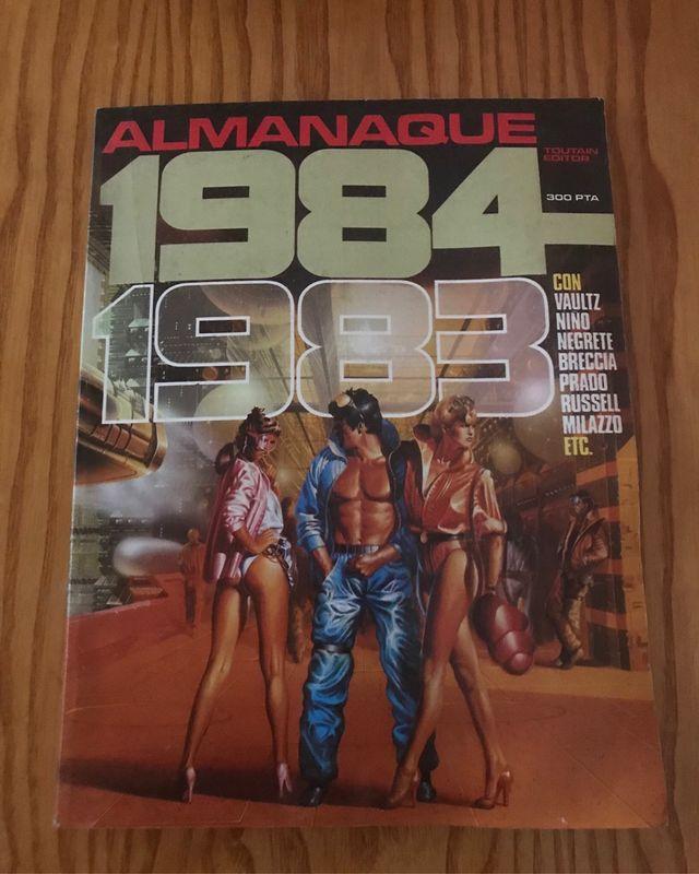 Publicacion 1984 comics tbo