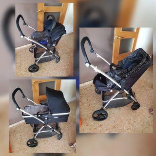 carrito de bebe 3 piezas