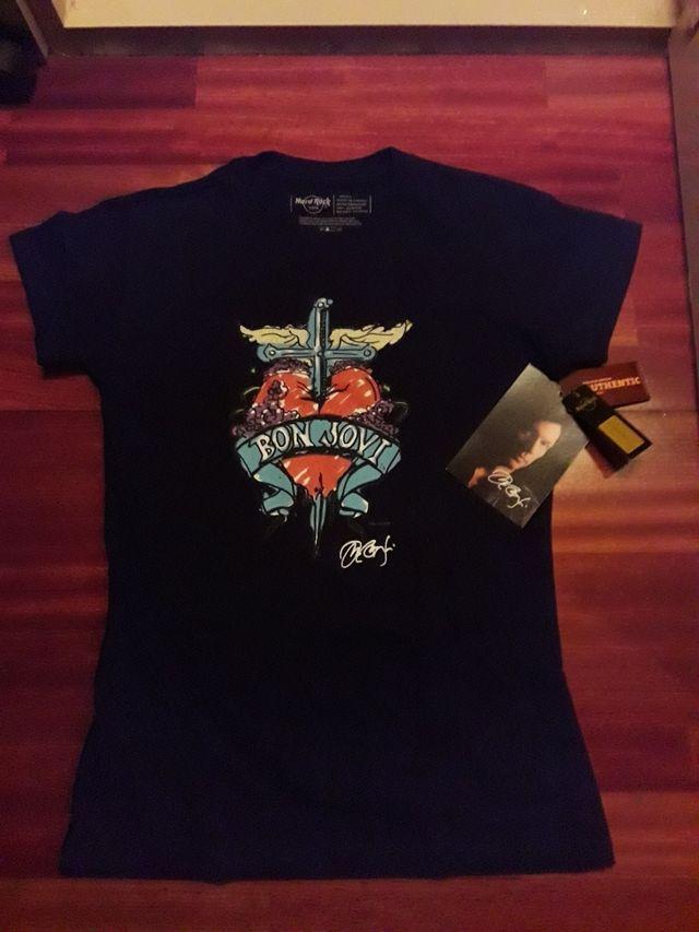9e54e6c8b Camiseta chica Bon Jovi. de segunda mano por 30 € en Santander en ...