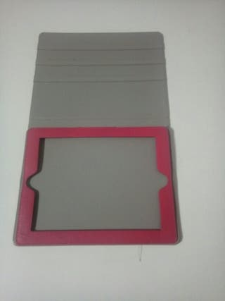 funda tablet rosa