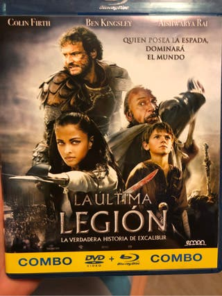 Pelicula Bluray y Dvd La última legión