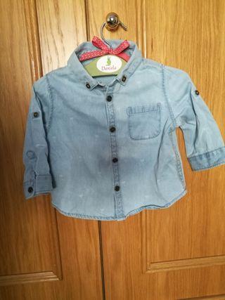 Camisa vaquera Zara mini